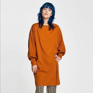Zara Oversized Needlecord Dress size S